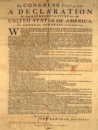 declaration of independence photo