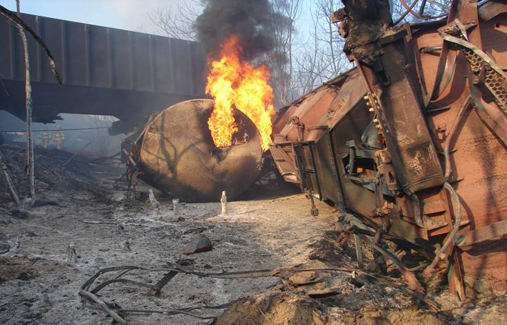 TAFD photo of the wreckage